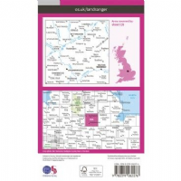 OS Landranger Map - 129 - Nottingham & Loughborough, Melton Mowbray